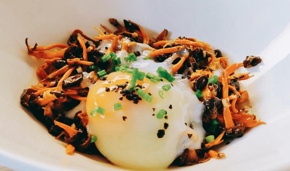 Gulas de monte con huevo roner